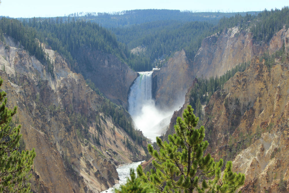 Yellowstone National Park – Waterfalls
