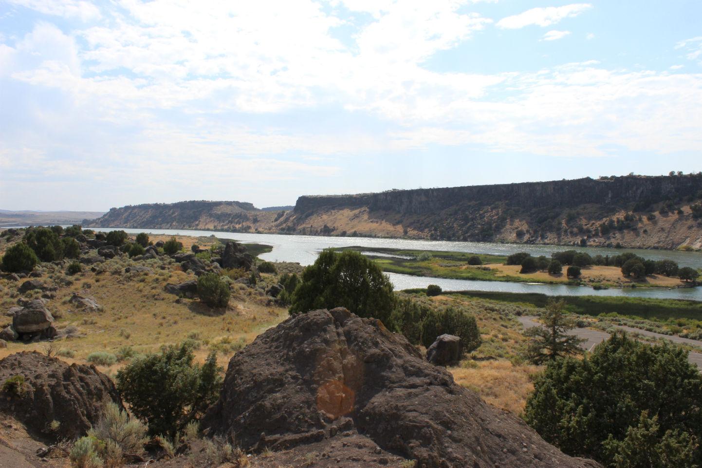 Massacre Rocks State Park and Register Rock