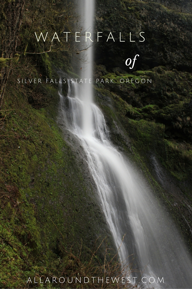 Waterfalls of Silver Falls State Park
