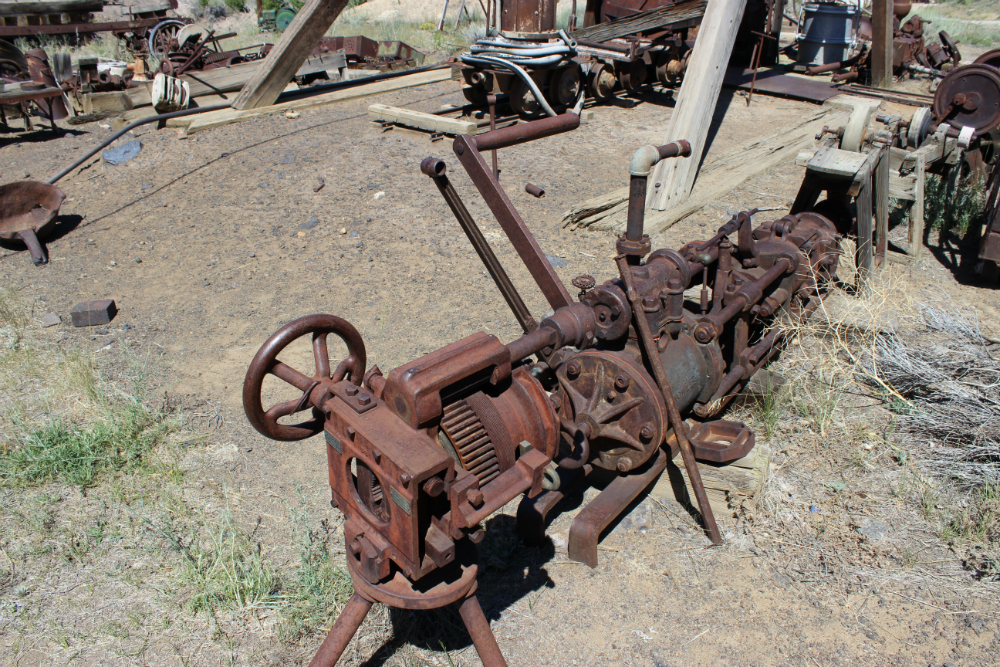Mining Machinery at the World Museum of Mining
